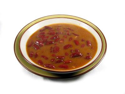 Receta de alubias rojas la olla ferroviaria - Alubias rojas con costilla ...